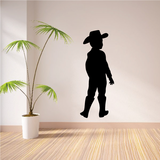 Cowboy Kid Decals