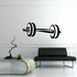 Barbell Decal