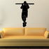 Pull Up Fitness Wall Decal - Vinyl Decal - Car Decal - MC003