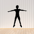 Fitness Wall Decal - Vinyl Decal - Car Decal - Bl042