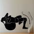 Excercise Ball Fitness Wall Decal - Vinyl Decal - Car Decal - MC007
