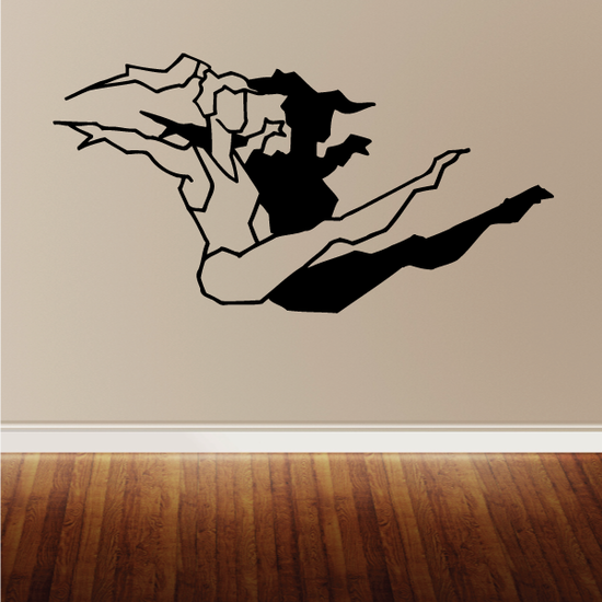 Fitness Wall Decal - Vinyl Decal - Car Decal - Bl009
