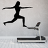 Workout Fitness Wall Decal - Vinyl Decal - Car Decal - AL 008