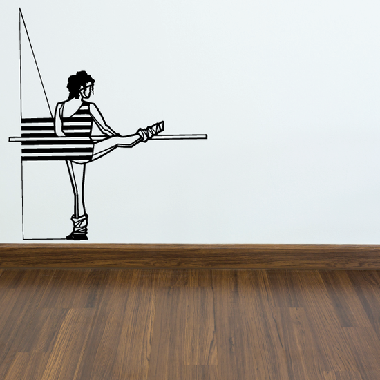 Fitness Wall Decal - Vinyl Decal - Car Decal - Bl025