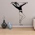 Fitness Wall Decal - Vinyl Decal - Car Decal - Bl031