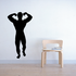 Fitness Wall Decal - Vinyl Decal - Car Decal - Bl134