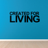 Created for living Sports Vinyl Wall Decal Sticker Mural Quotes Words HF006CreatedforV
