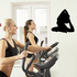 Workout Stretching Wall Decal - Vinyl Decal - Car Decal - AL 001