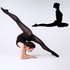 Workout Stretching Wall Decal - Vinyl Decal - Car Decal - AL 004