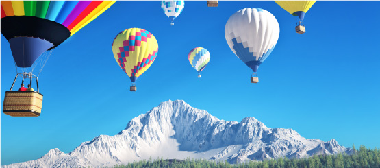 Hot Air Balloon Decals