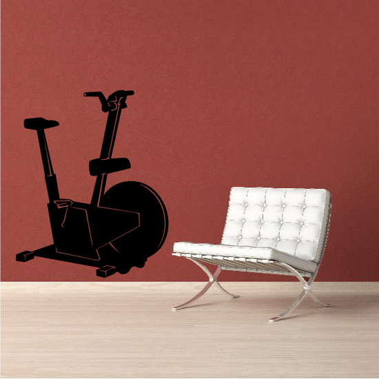 Bicycle Fitness Wall Decal - Vinyl Decal - Car Decal - MC008