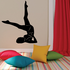 Shoulder Splits Fitness Wall Decal - Vinyl Decal - Car Decal - MC012