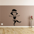 Female Dancing Fitness Wall Decal - Vinyl Decal - Car Decal - MC027