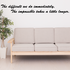 The difficult We Do Immediately The Impossible takes a little longer Wall Decal