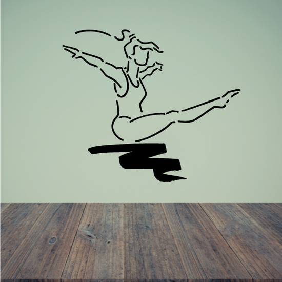 Fitness Wall Decal - Vinyl Decal - Car Decal - Bl006