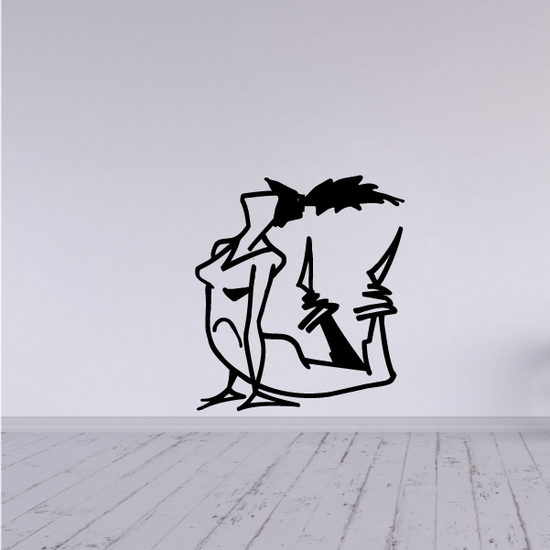 Fitness Wall Decal - Vinyl Decal - Car Decal - Bl015
