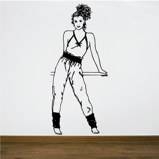 Fitness Wall Decal - Vinyl Decal - Car Decal - Bl023