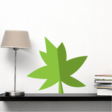 Graphic Leaf Stickers