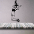 Fitness Wall Decal - Vinyl Decal - Car Decal - Bl038
