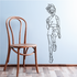 Fitness Wall Decal - Vinyl Decal - Car Decal - Bl047
