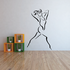 Fitness Wall Decal - Vinyl Decal - Car Decal - Bl051