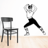 Fitness Wall Decal - Vinyl Decal - Car Decal - Bl052