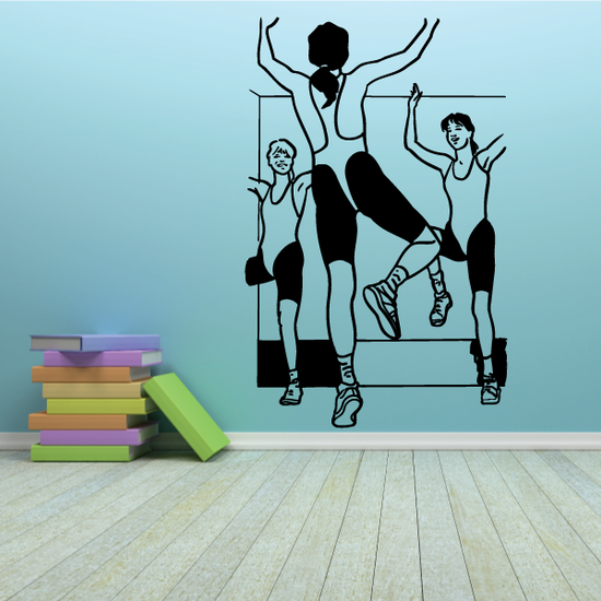 Fitness Wall Decal - Vinyl Decal - Car Decal - Bl056