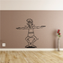Fitness Wall Decal - Vinyl Decal - Car Decal - Bl057