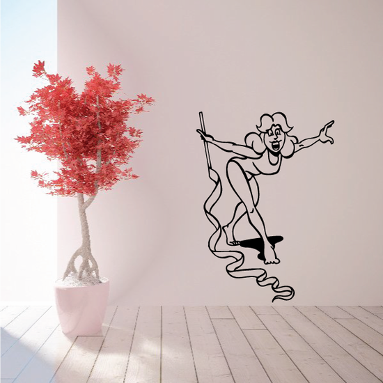Fitness Wall Decal - Vinyl Decal - Car Decal - Bl060