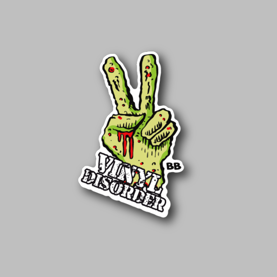 Peace Vinyl Disorder Free Sticker 18
