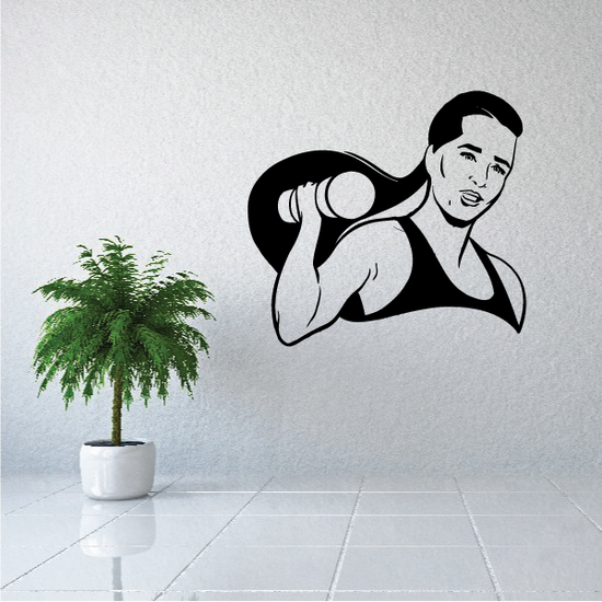 Fitness Wall Decal - Vinyl Decal - Car Decal - Bl072