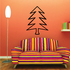 Tree Drawing Outline Wall Decal - Vinyl Decal - Car Decal - MC116