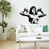 Fitness Wall Decal - Vinyl Decal - Car Decal - Bl073