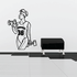 Fitness Wall Decal - Vinyl Decal - Car Decal - Bl075