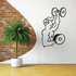 Fitness Wall Decal - Vinyl Decal - Car Decal - Bl081