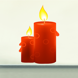 Candle Stickers