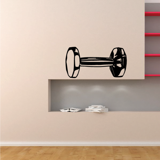 Fitness Wall Decal - Vinyl Decal - Car Decal - Bl087