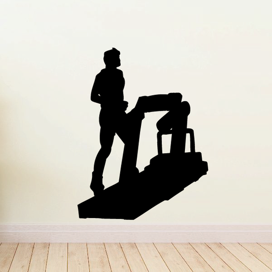 Fitness Wall Decal - Vinyl Decal - Car Decal - Bl092