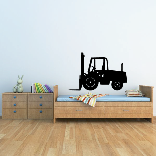 Heavy Forklift Decal