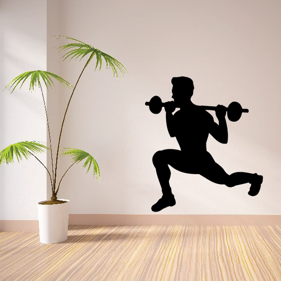 Fitness Wall Decal - Vinyl Decal - Car Decal - Bl101