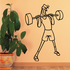 Fitness Wall Decal - Vinyl Decal - Car Decal - Bl103