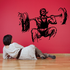 Fitness Wall Decal - Vinyl Decal - Car Decal - Bl104