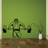 Fitness Wall Decal - Vinyl Decal - Car Decal - Bl105