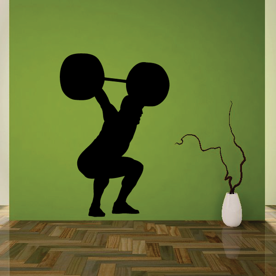 Fitness Wall Decal - Vinyl Decal - Car Decal - Bl107