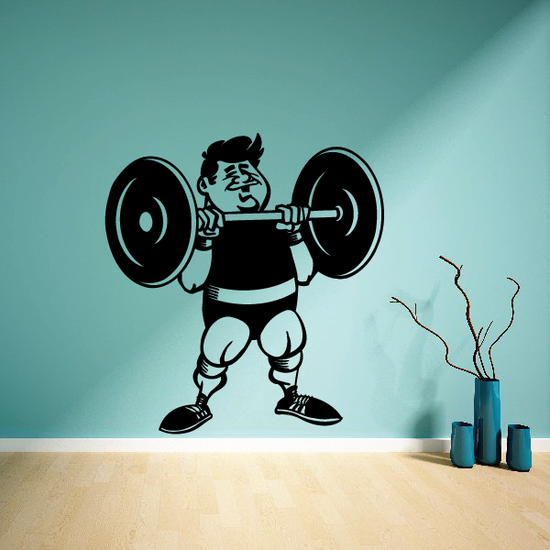 Fitness Wall Decal - Vinyl Decal - Car Decal - Bl108