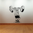 Fitness Wall Decal - Vinyl Decal - Car Decal - Bl109
