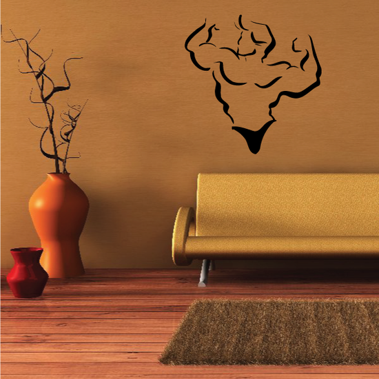 Fitness Wall Decal - Vinyl Decal - Car Decal - Bl113