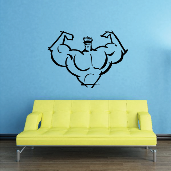 Fitness Wall Decal - Vinyl Decal - Car Decal - Bl114