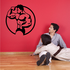 Fitness Wall Decal - Vinyl Decal - Car Decal - Bl115