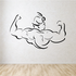 Fitness Wall Decal - Vinyl Decal - Car Decal - Bl116